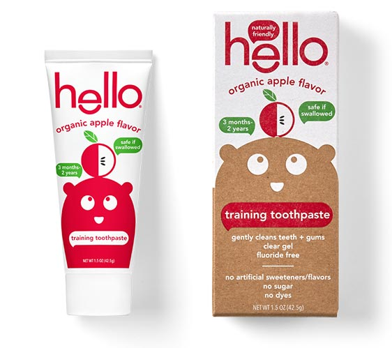 hello toothpaste toddler training