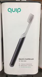 Quip electric toothbrush black