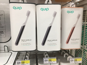 Quip electric toothbrush shelf1