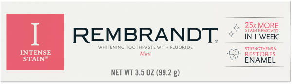 rembrandt toothpaste intense stain